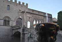 Viterbo / Soluzioni per dormire in maniera comoda ed economica vicino a Viterbo e alle Terme dei Papi.