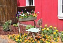 Repurposed @ Garden Centers / Repurposed retail ideas from independent garden centers.