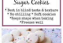 sugar rolled cookies