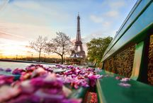 """Romantic Paris / No wonder why Paris is called the """"City of Love"""" and romance. This city has everything to offer couples and love birds wishing to share a romantic moment..."""