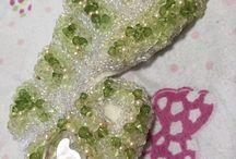 vintage beads / Headresses
