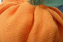 burlap fall projects
