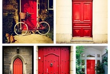 Decor - Doors / Doors, old and new and holiday decor ideas.. Your front door says so much about you!