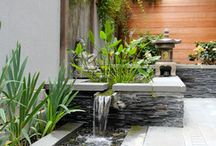 Garden Water Features / Ideas for water features in a garden