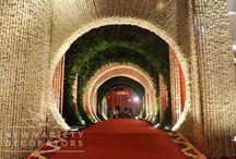 wedding set entrances
