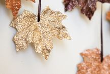 Glitter Thanksgiving DIY / Add a bit of sparkle and shine to your next thanksgiving dinner! / by Art Glitter