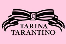 TARINA TARANTINO / Tarina Tarantino is an American jewelry and accessory designer, based in Los Angeles, California. After graduating high school, Tarina Tarantino moved to Paris, where she worked as a fashion model. Returning to Los Angeles, she became a full-time makeup artist. In 1995, she and Alfonso Campos opened the self-titled business Tarina Tarantino. Tarina's collections appeal to girls of ALL ages. She offers beautiful hand-made jewelry and accessories in the most delicious colors and more importantly,  / by LAStyleRush .com