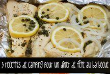 Recettes de Cuisine de camping / Délicieuses recettes à réaliser facilement au camping