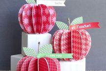 Jablka dekorace