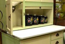 My Hoosier Cabinet!!!