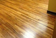 Wood Flooring / Shiny wood floors