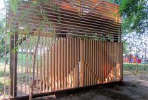 temporary pavilion / treeXoffice
