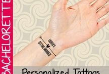 Bachelorette Party Temporary Tattoos / Bachelorette party temporary tattoos by Buttonhead!