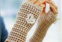 guantes,manos y pies