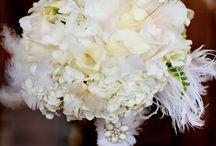Deco Wedding Bouqet / Boutonniere