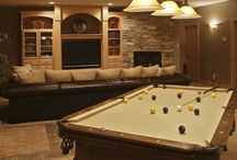 Man Cave Ideas / Featuring man caves of all kinds - big, small, garage, basement, shed and more. Fun board.