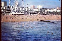 Beautiful Brighton / Creased's first card shop is in Brighton and it'll always be our HQ as we expand.  Here's some lovely pictures of Brighton & Hove City