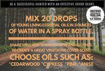 Hunting yl oils