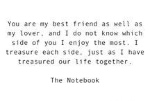 Excerpts from The Notebook.. / Quotes from the movie the notebook