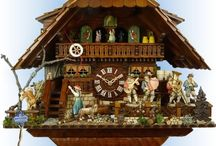 Cuckoo Clocks - Chalet Style / Chalet Style authentic German Black Forest cuckoo clocks available at Bavarian Clockworks.