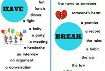 Αγγλικά συμφράσεις collocations