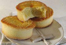 Gâteau basques à la crème