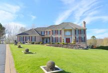 Luxury Living in 6044 sq. feet in Barrington, Illinois / This is luxury living at its best, evident as soon as you approach the driveway and view the huge expanse of lawn and landscaped terraced views with detailed brick work.