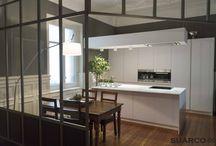 Cocinas con Isla. Suarco / Cocinas con isla.  Tienda y fábrica de cocinas en Santander y Cantabria