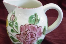 blue ridge pottery / by Suzanne Ferrell, RS author