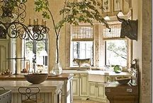 Ideas for the House / French Chic/distressed painted furniture