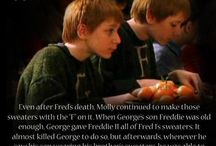 It's a twin thing / Fred&George Weasley (James and Oliver Phelps) (And also other HP stuff.. sometimes)