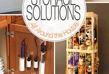 Organisation & Storage ideas / Organisation, storage, daily checklists, cleaning, organization ideas, cleaning
