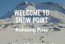 Rohtang Pass Manali / Rohtang Pass, is a high mountain pass on the eastern Pir Panjal Range of the Himalayas. Rohtang Pass is 51 km from Manali. It connects the Kullu Valley with the Lahaul and Spiti Valleys of Himachal Pradesh, India. Rohtang Pass can be reached only by road. The pass is located at a massive height of 3978 metres, As the vehicle climbs higher on the Manali- Keylong road, the beauty of the landscape around will leave you awestruck