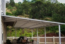 Patio Covers / Keep your patio or deck dry with a great looking cover.