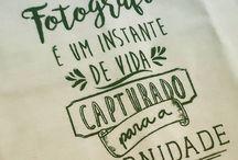 Fotografia frases/ilustraçoes