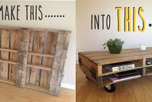 DIY Pallet Tutorials