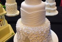 wedding cakes / by Carrie Holmes