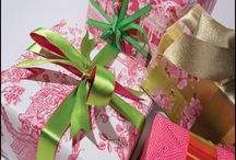 Pretty Package - / The gift doesn't have to cost much - if you take the time to make the package pretty the person receiving it will feel as if it cost a million bucks