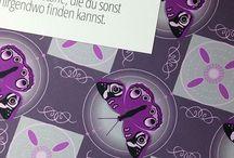 Schmetterlinge - Stoffe / Schmetterlingstoffe für Maxikleider, Tuniken und Tops im Sommer nähen.