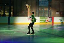 Christmas Ice Skating Proposal