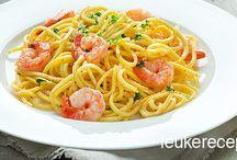 Recepten - pasta