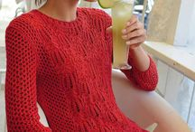 Summer knitting from cotton