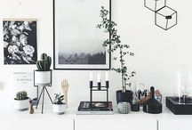 Walls and shelves