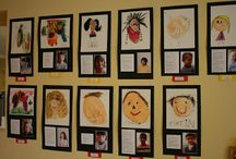 Transition to school display ideas