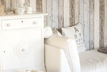 White+Wooden look