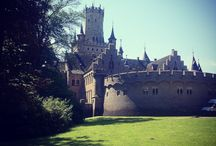 Marienburg Castle / This summer residence of the House of Guelph, the oldest princely house in Europe, has been maintained in authentic condition and is one of the most important neo-Gothic buildings in Germany.