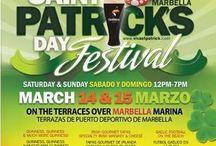 St Patricks Day in Marbella
