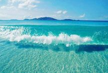 Cristal clear water...