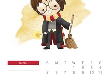 Harry Potter calendrier