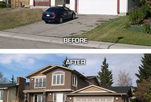 Home exterior makeovers / by Melissa Amador